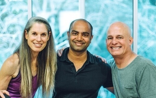 Ram with Yin founders Paul-Suzee-Grilley